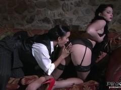 PinkoHD XXX video: Lesbian Seduction