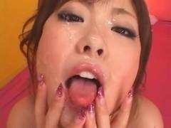 Busty JAV Cutie - Fun With Cum!