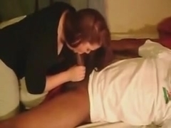 Redhead and black hubby