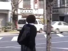 Hot Asian got public sharked while she was leaving her tutor