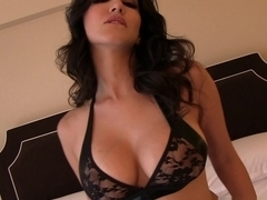 Horny pornstar Sunny Leone in Crazy Lingerie, Softcore adult scene