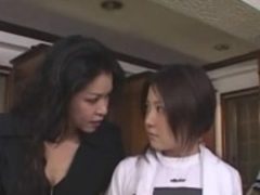 Japanese Lesbian Babes (We need to tame this fresh student)SM