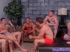 Analfucking jocks cumshot after cocksucking