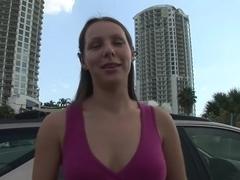 Fabulous pornstar Zoe Rae in horny outdoor, amateur porn movie