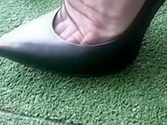 My wife's freaking charming feet indeed drive me crazy