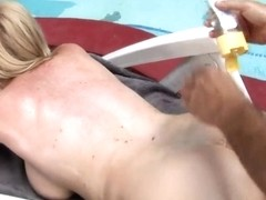 Mature busty cougar Monik get nailed outdoor