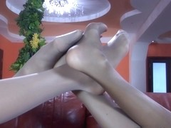 NylonFeetVideos Video: Keith A and Fiona A