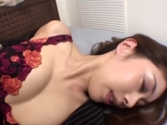 Jap MILF fucked in her ass