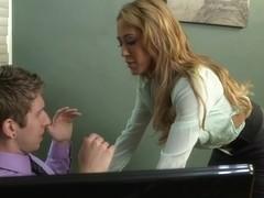 Capri Cavanni & Danny Wylde in Naughty Office