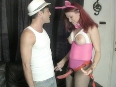 Bunny Outfit Femdom Pegging CATHERINE FOXX LANCE HART