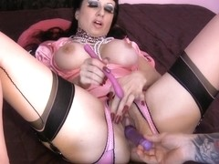 BREASTY satin mother I'd like to fuck JOI : masturbate with me