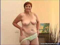 68 year old granny masturbates her lovely matured bawdy cleft