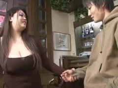 Oriental big beautiful woman hj then knob