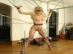 Honey Sadie Belle in hot BDSM scene