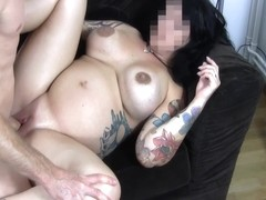 9 Month Pregnant Swedish Girl Gets Fucked!