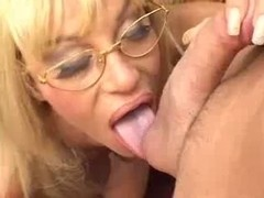 Older Blond Mother Drilled