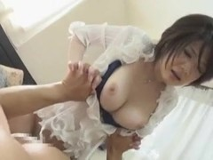 Busty Asian slut Yukino screams while fucking