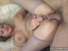 Anal-Pantyhose Video: Jenny F and Nicholas