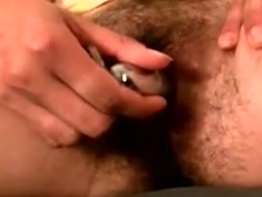I toy my cunt in hot amateur masturbating video clip