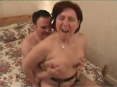 Redhead British Mom fucks a stranger