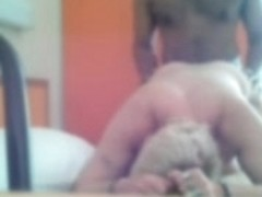 French mature in trucker hotel room part1