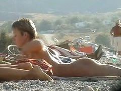 Hot amateur voyeurism beach nudity