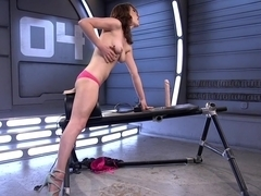 Amazing fetish sex video with exotic pornstar Lily LaBeau from Fuckingmachines