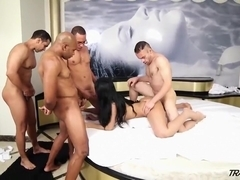 Exotic Amateur Shemale record with Cumshot, MILF scenes