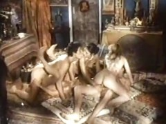 Amazing masturbation vintage video with Becky Savage and Seka