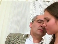 Threesome sex with teacher
