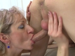Real granny acquires drilled by her toyboy