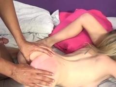Fabulous pornstars Shawna Lenee, Angel Smalls in Exotic College, Blonde adult movie