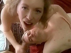 Wife Makes Cuckold Spouse a Thrall as This Babe Copulates One More Fella