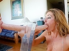 Luna C. Kitsuen & Brooklyn Lee in Suck It #08 Video