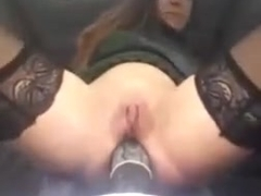 Amateur - italian mature cant get gear stick into gear