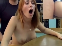 Hot chick fucked 1st time an...