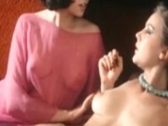 Breathtaking blond receives her fellow, then her woman
