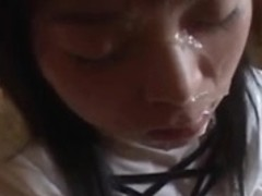 Intensive Japanese doll facial compilation three. (Censored)