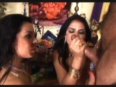 Indian 3some, cuties getting screwed anal