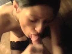 Impure talking English wife really enjoys sucking