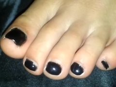 My Friends nice Toes With mill that is shadowy