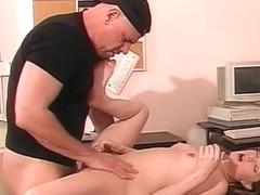 Legal secretary getting buttt rammed