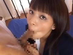 Yui Kohinata Naughty girl in school uniform