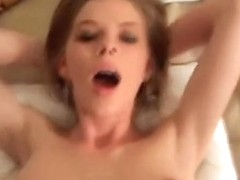 Incredible amateur porn with a cock-addicted blondie