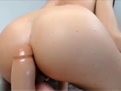 Big Ass Slut Is Jacking Off