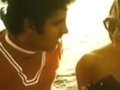 Amateur vintage sex tape features some wild public sex