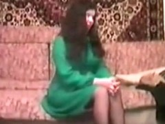 Amazing Homemade record with Brunette, Russian scenes