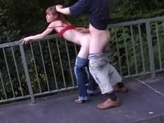 HAWT FUCK #12 (Legal Age Teenager on the Bridge)