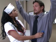 Big Breast Nurse Priya Pounded