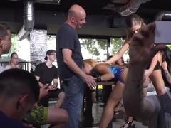 Bare Ass Blonde Fucked In Public
